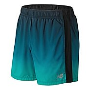 Mens New Balance Accelerate Graphic 5 inch Unlined Shorts
