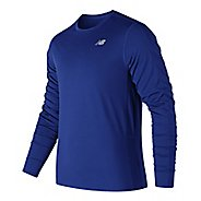 Mens New Balance Accelerate Shirt Long Sleeve Technical Tops