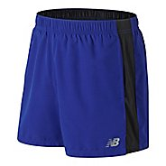 Mens New Balance Accelerate 5 inch Unlined Shorts - Purple Royal L