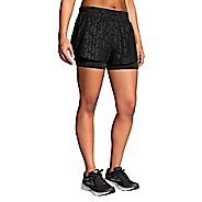 "Womens Brooks Circuit 3"" 2-in-1 Shorts"