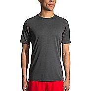 Mens Brooks Ghost Short Sleeve Technical Tops - Heather Black XXL