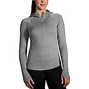 Womens Brooks Notch Thermal Half-Zips & Hoodies Technical Tops