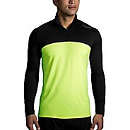 Mens Brooks Dash Nightlife Half-Zips & Hoodies Technical Tops