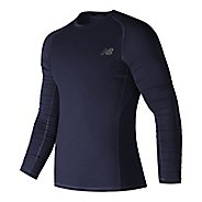 Mens New Balance Challenge Long Sleeve Technical Tops