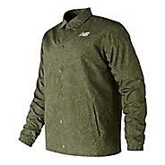 Mens New Balance Classic Printed Coaches Casual Jackets