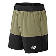 Mens New Balance Essentials Boardie Unlined Shorts - Black L