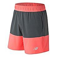 Mens New Balance Essentials Boardie Unlined Shorts - Fiji S