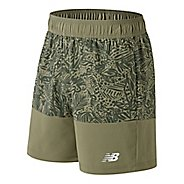 Mens New Balance Essentials Boardie Short Print Unlined Shorts