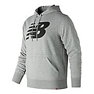 Mens New Balance Essentials French Terry Pullover Half-Zips & Hoodies Technical Tops