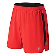 Mens New Balance Impact 7 inch Unlined Shorts - Flame S