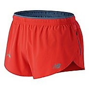 Mens New Balance Impact Split 3 inch Unlined Shorts