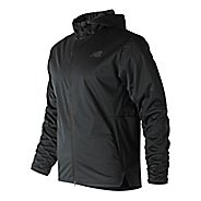 Mens New Balance Max Intensity Cold Weather Jackets - Black M