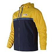 Mens New Balance NB Athletics 78 Cold Weather Jackets - Atomic Yellow S