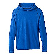 Mens Prana Calder Long Sleeve Half-Zips & Hoodies Technical Tops - Island Blue S