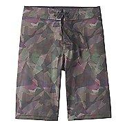 Mens Prana Sediment Unlined Shorts - Green Hex 32
