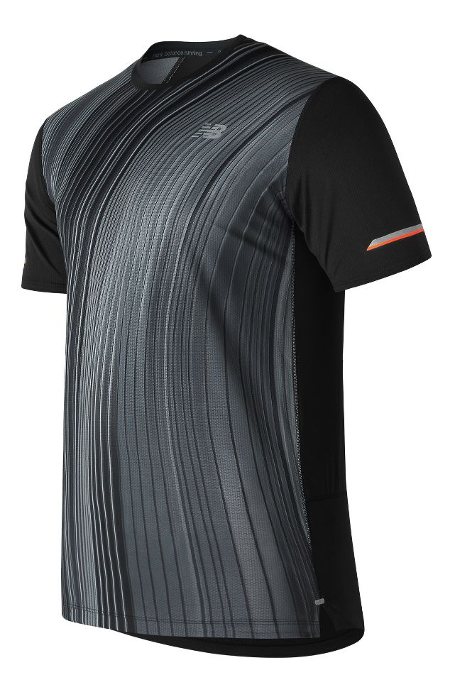 c9611117abe Mens New Balance Printed NB Ice 2.0 Short Sleeve Technical Tops at Road  Runner Sports