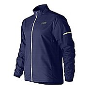 Mens New Balance Reflective Pack Running Jackets - Blue Pigment S
