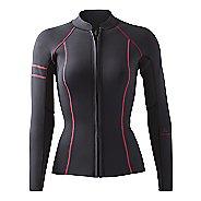 Womens Prana Mara Jacket  Swim - Black Pop S