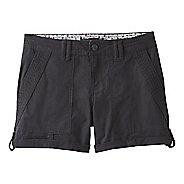 Womens Prana Mari Unlined Shorts - Black 4