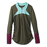 Womens Prana Martine Sun Top  Swim - Cargo Green L