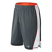 Mens New Balance Tenacity Knit Unlined Shorts - Gunmetal M