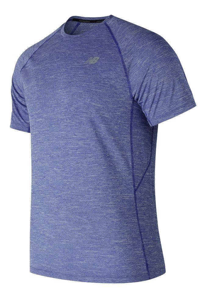 new balance accelerate short sleeve t shirt mens