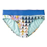 Womens Prana Ramba Bottom  Swim - Bluegrass Paradise XS