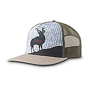 Mens Prana Journeyman Trucker Headwear - Mountain Goat