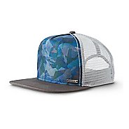 Mens Prana Vista Trucker Headwear - Green Hex
