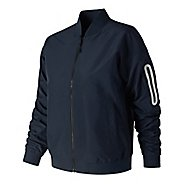 Womens New Balance 247 Luxe Sateen Bomber Casual Jackets