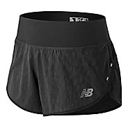 Womens New Balance 3 inch Jacquard Impact Unlined Shorts