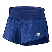 Womens New Balance 3-inch Printed Impact Unlined Shorts