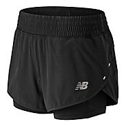 Womens New Balance 4 inch Impact Unlined Shorts