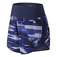 Womens New Balance 5 inch Printed Impact Unlined Shorts