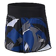 Womens New Balance Printed Impact 5-inch Unlined Shorts