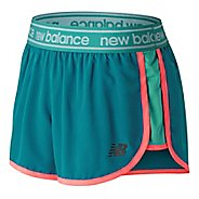 Womens New Balance Accelerate 2.5 inch Unlined Shorts - Lake Blue L