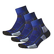Thorlos Outdoor Athlete Low-Cut 3 Pack Socks - Royal Thunder M