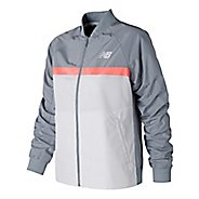 Womens New Balance NB Athletics 78 Cold Weather Jackets - Light Slate XL