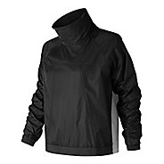 Womens New Balance NB Athletics Anorak Cold Weather Jackets - Black M