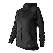 Womens New Balance NB Core Fleece Full Zip Casual Jackets