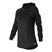 Womens New Balance NB Core Fleece Half-Zips & Hoodies Technical Tops