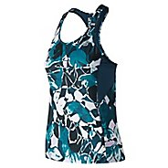 Womens New Balance NB Ice 2.0 Printed Sleeveless & Tank Tops Technical Tops