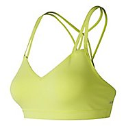 Womens New Balance NB Studio Sports Bras - Solar Yellow L