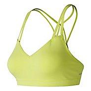 Womens New Balance NB Studio Sports Bras - Solar Yellow XL