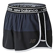 Womens New Balance Printed Accelerate 2.5 inch Unlined Shorts - Black/Grey M