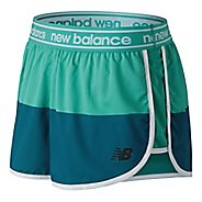 Womens New Balance Printed Accelerate 2.5 inch Unlined Shorts