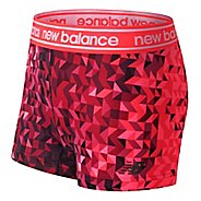 Womens New Balance Printed Accelerate Hot Unlined Shorts - Vortex L