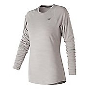 Womens New Balance Seasonless Long Sleeve Technical Tops