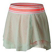 Womens New Balance Tournament Skorts Fitness Skirts - Sea Foam L