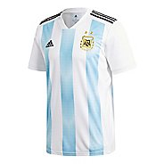 Mens adidas Argentina Home Replica Jersey Short Sleeve Technical Tops